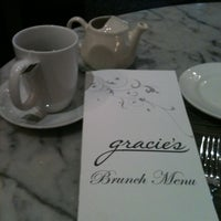 Photo taken at Gracie's by Paul S. on 9/18/2011