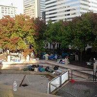 Photo taken at Kanawha Plaza by Mariah G. on 10/18/2011