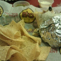 Photo taken at Moe's Southwest Grill by Angela M. on 8/15/2012
