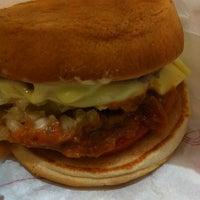 Photo taken at MOS Burger by Irin M. on 2/10/2011