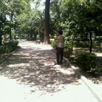 Photo taken at Parque de la China by Mariela S. on 4/28/2012