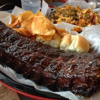Photo taken at The Bar-B-Q Shop by Allen A. on 12/28/2011
