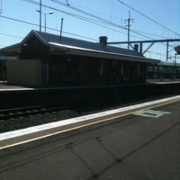 Photo taken at Flemington Station by Cassian C. on 9/22/2011