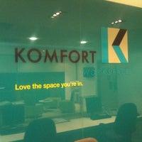 Photo taken at Komfort Workspace by James P. on 8/26/2011