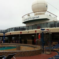 Photo taken at Carnival Legend by Dan S. on 6/26/2011