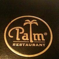 Photo taken at Palm Restaurant by Sandra E. on 8/31/2011
