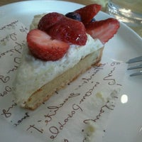 Photo taken at 카페 모리 by YEONSU K. on 4/16/2012