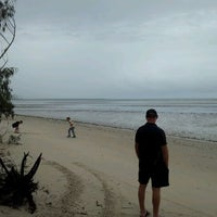 Photo taken at Toogoom Beach by Aaron H. on 12/23/2011
