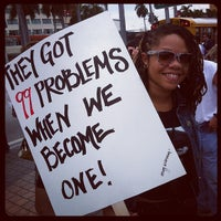 Photo taken at #OccupyMiami by AVED Inc. A. on 10/15/2011