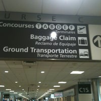 Photo taken at Concourse C by Casey E. on 8/14/2012