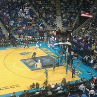 Photo taken at Smoothie King Center by rhea s. on 4/20/2012