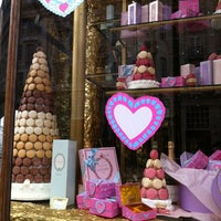 Photo taken at Ladurée by Andrea T. on 2/4/2012