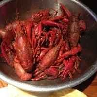 Photo taken at Bayou City Seafood & Pasta by Jenna Z. on 4/23/2012