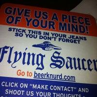 Photo taken at Flying Saucer Draught Emporium by Jon-Stephen S. on 3/23/2012