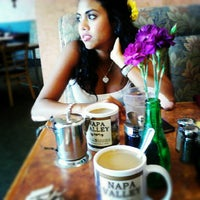 Photo taken at Gillwoods Cafe by Melanie S. on 8/30/2012