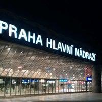 Photo taken at Prague Main Railway Station by Jacob G. on 7/20/2012