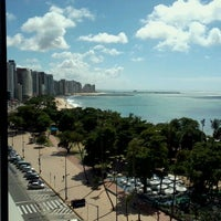 Photo taken at Hotel Beira Mar by Ana Carolina V. on 5/20/2012