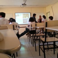 Photo taken at Escola Moderno by Victor G. on 8/16/2012