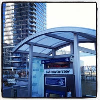 Photo taken at East River Ferry - North Williamsburg Terminal by Rick W. on 3/5/2012