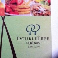 Photo taken at Doubletree by Hilton San Juan by Bob B. on 8/23/2011