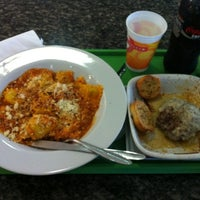 Photo taken at Spoleto Culinária Italiana by Rodrigo S. on 7/13/2012