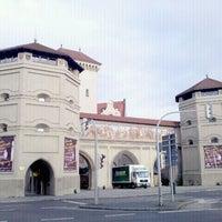 Photo taken at Isartor by kawakami on 12/14/2011