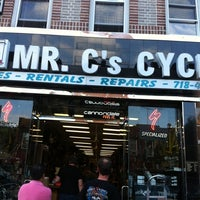 Photo taken at Mr. C's Cycles by Cathy L. on 7/15/2011