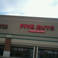 Photo taken at Five Guys by Mary M. on 10/24/2011
