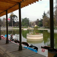 Photo taken at Parque Quinta Normal by Hans F. on 8/9/2012