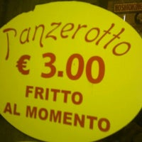 Photo taken at Il Panzerotto Gnam Gnam by Ross B. on 9/8/2011