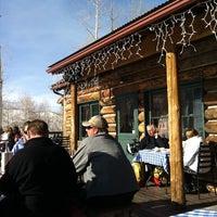 Photo taken at Lynn Britt Cabin by Charles H. on 1/28/2012
