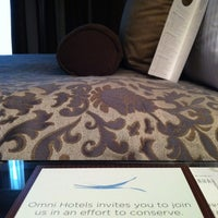 Photo taken at Omni Dallas Hotel at Park West by John L. on 2/15/2012