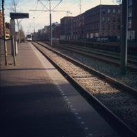 Photo taken at Tramhalte Vennepluimstraat by Karin v. on 3/20/2012