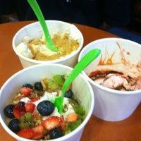 Photo taken at Yogurt Madness by Maria B. on 8/4/2012