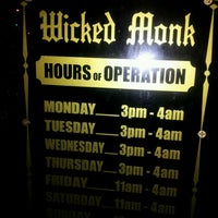 Photo taken at The Wicked Monk by La Fer @. on 3/1/2012