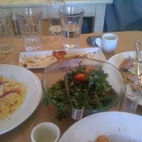 Photo taken at Ψωμί & Αλάτι by Fenia  K. on 3/17/2012