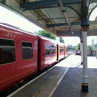 Photo taken at Kingston Railway Station (KNG) by Jonathan B. on 6/26/2012