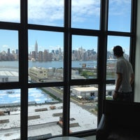 Photo taken at Wythe Hotel by Shaheen K. on 7/21/2012