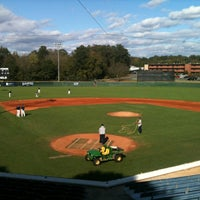 Photo taken at Ron Christopher Stadium & Plyler Field by Wingate University A. on 10/20/2011