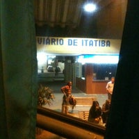 Photo taken at Terminal Rodoviário de Itatiba by Fê A. on 9/7/2012
