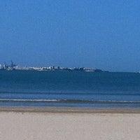 Photo taken at Playa de Valdelagrana by Miguel Angel C. on 4/14/2011