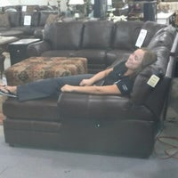 Photo taken at American Furniture Warehouse by Angela H. on 8/14/2012