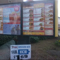 Photo taken at SONIC Drive In by Jason C. on 1/12/2012