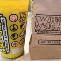 Photo taken at Which Wich? Superior Sandwiches by Mark H. on 6/21/2012