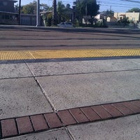 Photo taken at Palm Avenue Trolley Station by Renee L. on 1/18/2012
