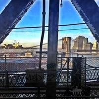 Photo taken at MTA Subway - Manhattan Bridge (B/D/N/Q) by Vanessa V. on 1/9/2012