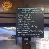 Photo taken at Mother's Restaurant by Anthony V. on 12/2/2011