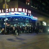Photo taken at Regal Cinemas Union Square 14 by Appetite for Good on 10/19/2011