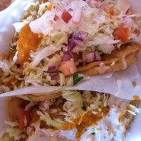 Photo taken at Tacos Baja Ensenada by iSam . on 2/1/2011