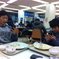 Photo taken at 포항공과대학교 학생회관 by Dongyeop K. on 2/11/2011